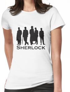 sherlock Womens Fitted T-Shirt