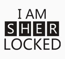 i am sher locked One Piece - Short Sleeve