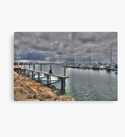 Fishing Hilary Boat Harbour Canvas Print