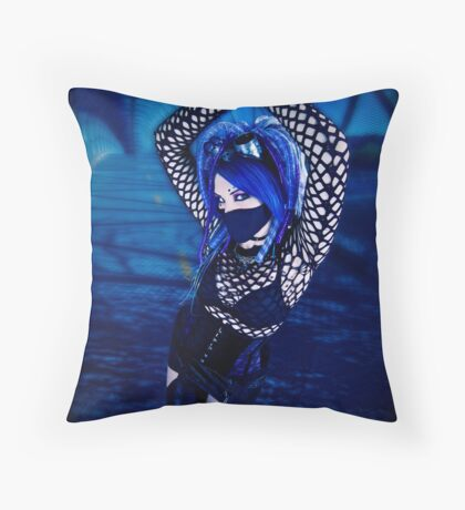 Blu Throw Pillow