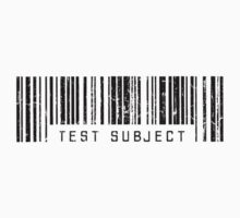Test Subject Barcode by daeryk