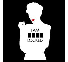i am sher locked 1 Photographic Print