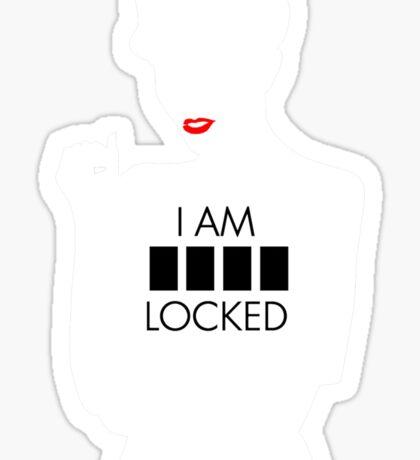 i am sher locked 1 Sticker