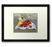 Bugs and Brew Framed Print