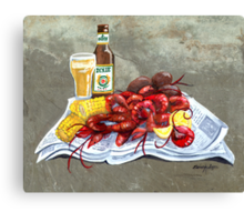 Bugs and Brew Canvas Print