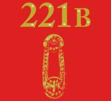 221b baker street Baby Tee