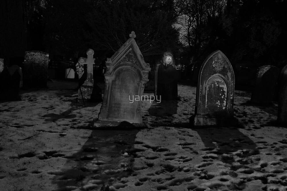 Graves And Ghost by yampy