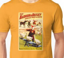 Barnum and Bailey Vintage Circus Poster Unisex T-Shirt