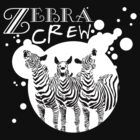 Zebra Crew Splatter for Dark Apparel by KustomByKris