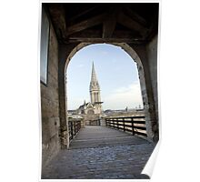 Cathedral of St. Pierre in Caen Poster