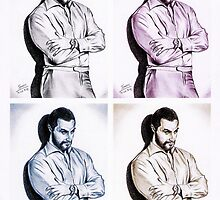 Richard Armitage, Andy Warhol style by jos2507