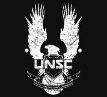 UNSC LOGO HALO 4 - GRUNT DISTRESSED LOOK by Republica