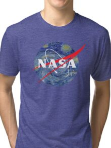 NASA starry night Tri-blend T-Shirt