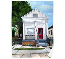 White Shotgun House Poster