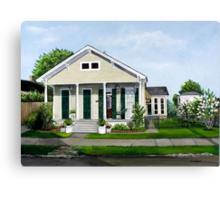 Historic Louisiana Home and Garden Canvas Print