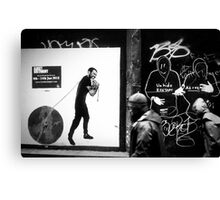 Street people Canvas Print