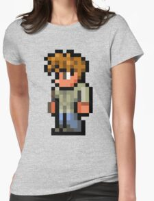 Terraria the guide Womens Fitted T-Shirt