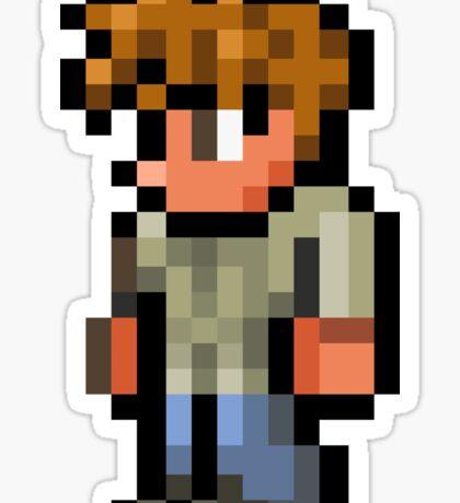 Terraria the guide Sticker