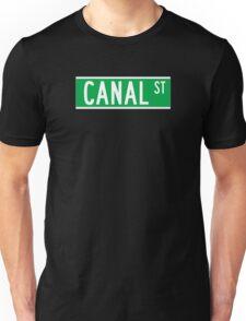 Canal St., New York Street Sign, USA Unisex T-Shirt
