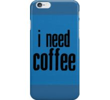 Oil - Coffee Graphic iPhone Case/Skin