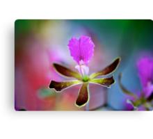Watercolour Orchid Canvas Print