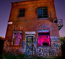 Abandoned red light by IgorPhotography