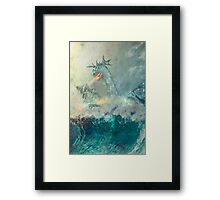 Chinese Water Dragon Framed Print