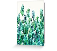 Jungle Rising Greeting Card