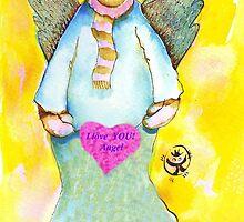 St. Valentine's Angel by ivDAnu
