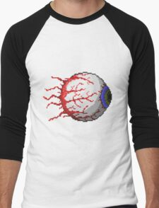 Terraria Eye of Cthulhu Men's Baseball ¾ T-Shirt