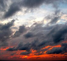 Fire in the sky by G.T.S Photos