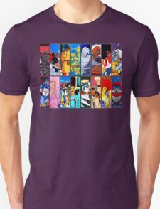 80s Totally Radical Cartoon Spectacular!!! VERSION 2 T-Shirt