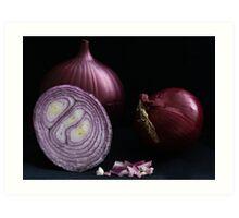 Red Onion Art Print