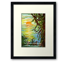 Vine and Branches Framed Print