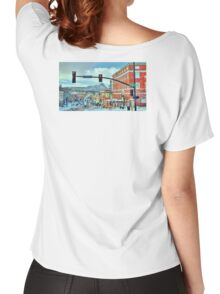 After A Snowstorm In Prescott Arizona  Women's Relaxed Fit T-Shirt