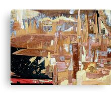 modern vibrant city Canvas Print