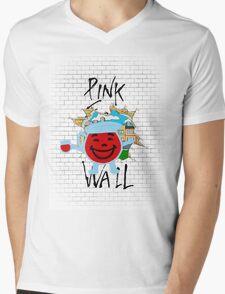The Wall Mens V-Neck T-Shirt