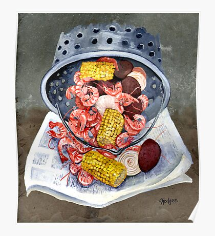 Shrimp Boil Poster