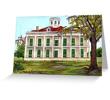 LeBeau Plantation Front View Greeting Card