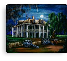 Moonlit Plantation Canvas Print