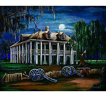 Moonlit Plantation Photographic Print