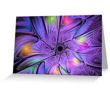 Star of Hope (Dedicated to all who have lost a loved one) Greeting Card