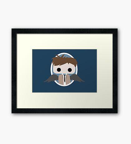 Hey Assbutt ! Framed Print