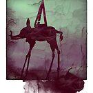 Elephant Polaroid by carrieH
