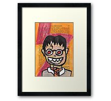 Zombie Harry Potter Framed Print