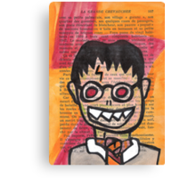 Zombie Harry Potter Canvas Print