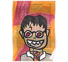 Zombie Harry Potter Poster