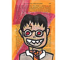 Zombie Harry Potter Photographic Print
