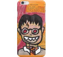 Zombie Harry Potter iPhone Case/Skin
