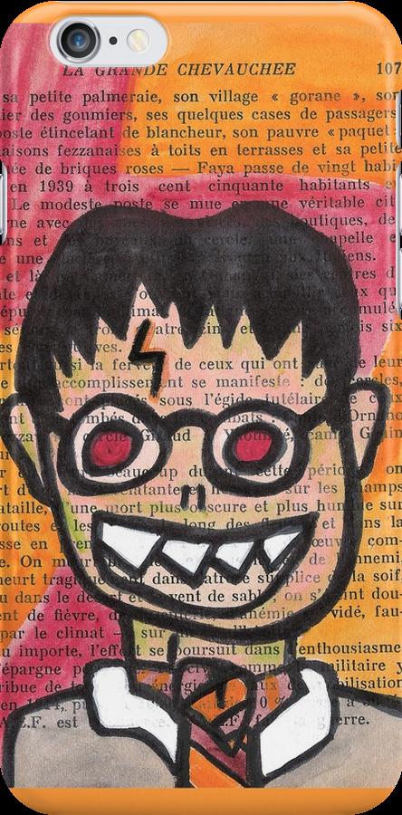 Zombie Harry Potter by jerasky